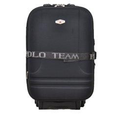 Polo Team 931 Koper Kabin Size 20 inch Gratis Pengiriman JABODETABEK - Hitam