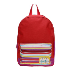 Saco Kids Tas Ransel Anak - Red Stripes