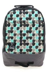 Tonga 31HA003506 Casual Backpack - Hitam-Abu-abu