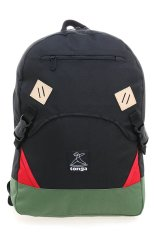 Tonga 31HH002506 Casual Backpack - Hitam-Hijau