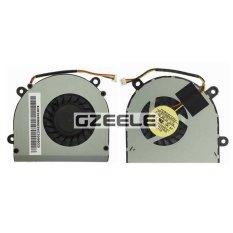 100%new FOR MSI FX600 FX600MX FX610 FX610MX F98D Laptop Cpu Cooling Fan Cooler Silver (Intl)