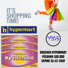 10 Lembar Voucher Hypermart 100K