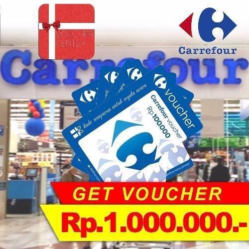 Carrefour Voucher 1.000.000