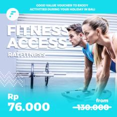 Fitness Access Voucher di RaiFitness Bali