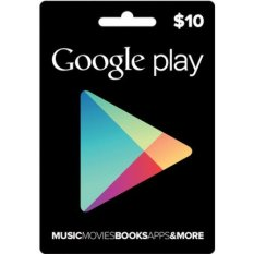 Google Play Card U.S 10$