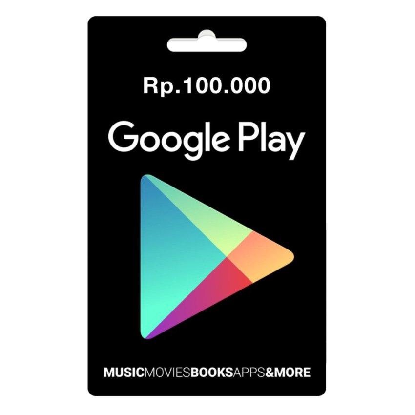 Google Play Gift Card Region Indonesia - 100.000