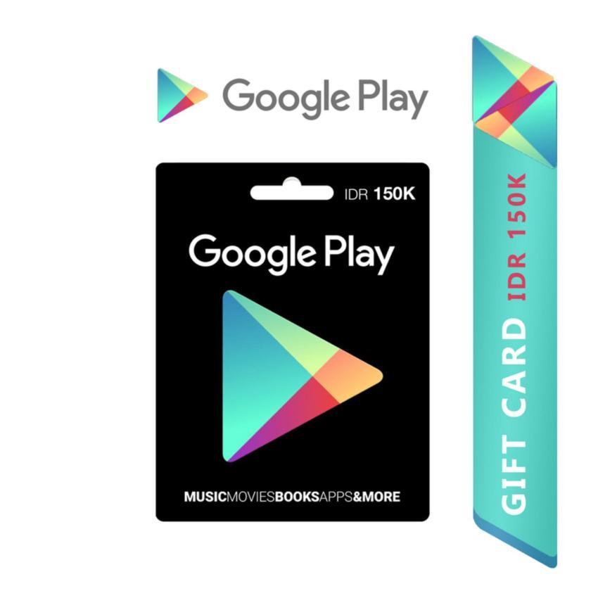 Google Play Gift Card Region Indonesia - 150.000