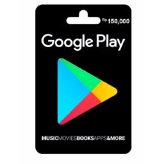Google Play Giftcard 150 K