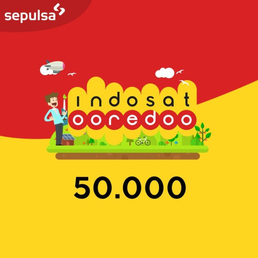 Indosat Ooredoo Pulsa Electric Rp. 50.000 (Max. 1 kali Pembelian Per Nomor Handphone)