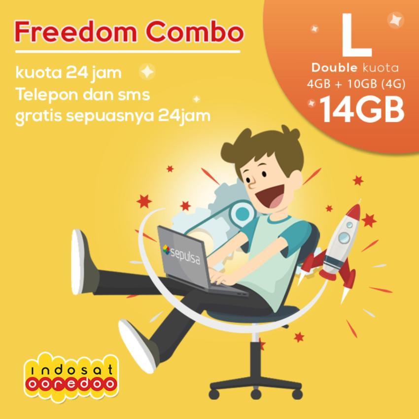 Indosat Paket Data Freedom L - 14 GB