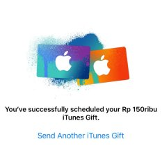 iTunes Gift Card Indonesia Rp. 150.000