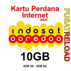 Perdana Internet INDOSAT Kuota 10GB - 5GB 3G & 5GB 4G