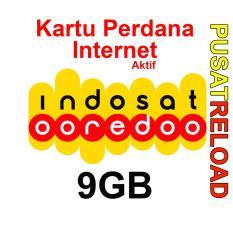 Perdana Internet INDOSAT Kuota 9GB - 24 Jam