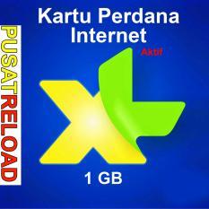 Perdana Internet XL Kuota 1 GB Aktif 2 Bulan