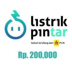 PLN Token Listrik Prabayar - 200.000