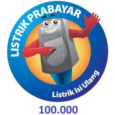 PLN Token Prabayar 100.000 (Masukkan ID Meter di Kolom Alamat)