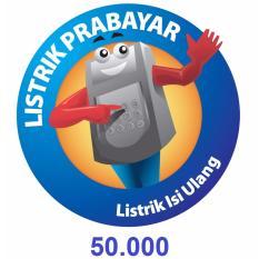 PLN Token Prabayar 50.000 (Masukkan ID Meter di Kolom Alamat)