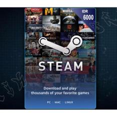 Steam Wallet 6000 IDR