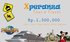 Xperanza Voucher Tour & Travel Senilai 1.300.000
