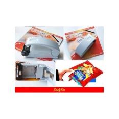 Alat Segel Plastik Kemasan Kantong (Super Sealer) Plastik Sealer Mini Bungkus Hand Sealer Perekat Plastik Alkaline Press Vacuum Udara Snack Makanan Kecil Krupuk Alat Dapur