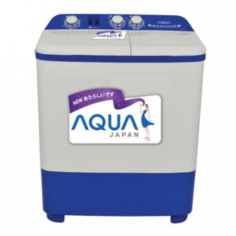 Aqua (Sanyo) Mesin Cuci Twin Tub 8kg SW871XT - Khusus JABODETABEK