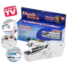 As Seen On Tv Handy Stitch Mesin Jahit Portable Operasi Dengan Baterai - Putih (White)
