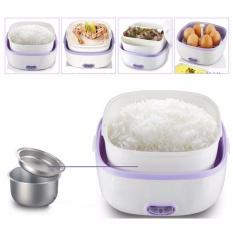 ( Best Seller ) StarHome Rice Cooker Mini 2 Susun kapasitas 1 L - Penanak Nasi Mini - Egg Boiler