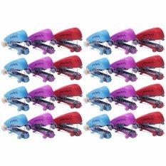 Bukka Paket 24 Buah Mesin Jahit Mini Handheld Sewing Machine (Multicolor)