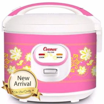 Cosmos Magic Com, Magic Jar, Rice Cooker, Penanak Nasi 1.8L 3in1 CRJ 3306 - Pink