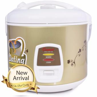 Cosmos Magic Com, Magic Jar, Rice Cooker, Penanak Nasi 1.8L DualCoating CRJ 3218 - Coklat