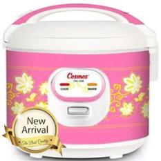 Cosmos Rice Cooker Magic Com CRJ-3306 - 1.8L - Pink (Pink)