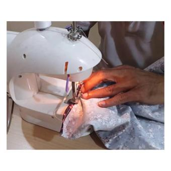 DSH Cosshop Mesin Jahit Mini ALat Jahit Mini Portable GT-202 Mini Sewing Matchine (White)