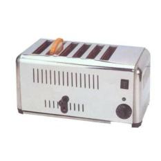 Getra EST-6 Slot Toaster / Mesin Pemenggang Roti 6 Slot - Silver - Gratis Ongkir SEJABODETABEK