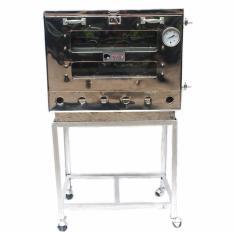 Kiwi - Oven Gas Stainless Steel 1 Pintu Ukuran 40X60 cm - Perak