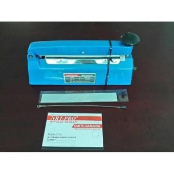 Mesin press plastik 20cm bergaransi / impulse sealer NRT-PRO