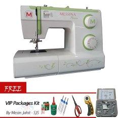 Messina P5721 Mesin Jahit Portable + Gratis VIP Packages Kit