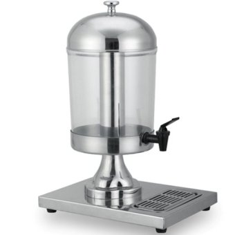 Mutu SJD-8 Stainless Juice Dispenser 8 Liter - Silver