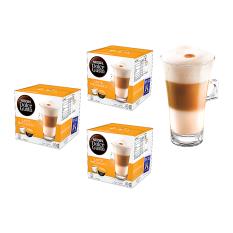 Nescafe Dolce Gusto Kapsul - Latte Machiato - 3 Box