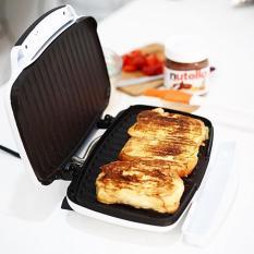 Oxone Ox-843 Sandwich Griller, Alat Pemanggang Roti - White