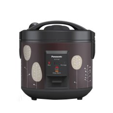 Panasonic SR-TP18TSR Rice Cooker 4in1 Easy Cooking 1,8 Liter - Retro Floral Maroon