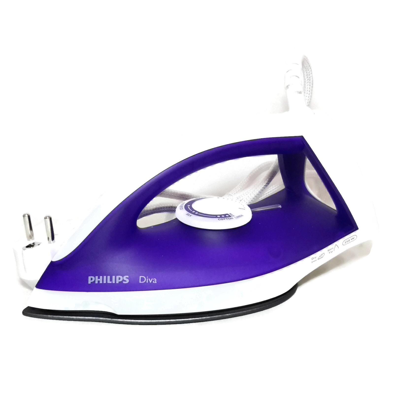harga spek philips gc122 setrika kering   ungu terbaru