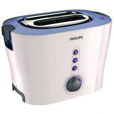 Philips HD-2630 Pop Up Toaster Pemanggang Roti - Putih-Ungu