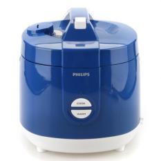 Philips HD 3127/31 Magic Com Rice Cooker - Penanak Nasi - Kap 2 Liter - Biru (Blue)