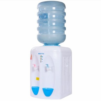 PISCES PD-08HN Dispenser (Panas - Normal) White - Blue