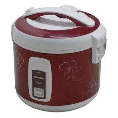 Polytron Tiara 3D PRC 1808R Rice Cooker - 1.8 L - Merah