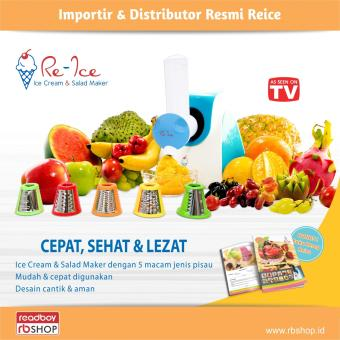 Re-Ice 2in1 Function Alat Pembuat Ice Cream & Salad Maker