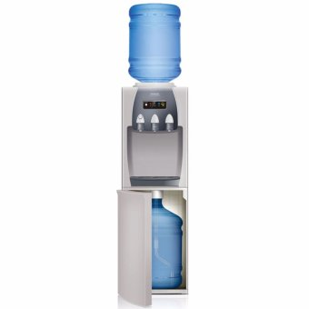 Sanken HWD-Z87 Dispenser Double Galon - Silver KHUSUS JABODETABEK