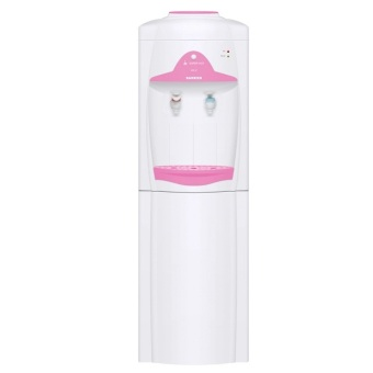Sanken HWE-62 Dispenser Portable 2in1 - Putih Pink (Khusus Jabodetabek)