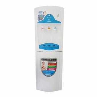 Sanken HWE-69BL Dispenser Air Galon Atas - Putih Biru (Khusus Jabodetabek)