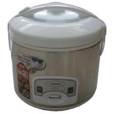 Sanken Magic Com, Magic Jar, Rice Cooker, Penanak Nasi 1.8 Liter Stainless Steel - SJ2060